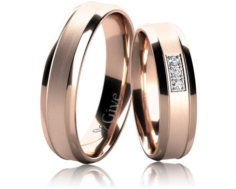 Snubní prsteny ZINNIA obr.16