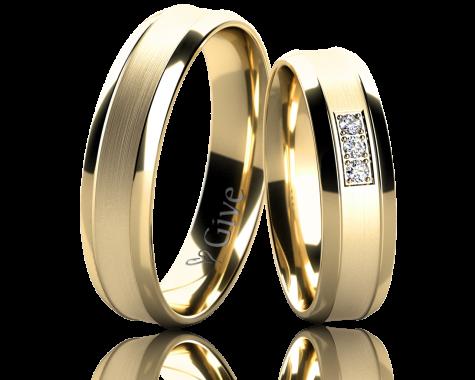 Snubní prsteny ZINNIA obr.17