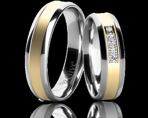 Snubní prsteny ZINNIA obr.19