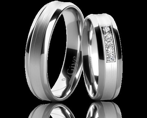 Snubní prsteny ZINNIA obr.20
