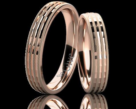 Snubní prsteny CLIVIA obr.5