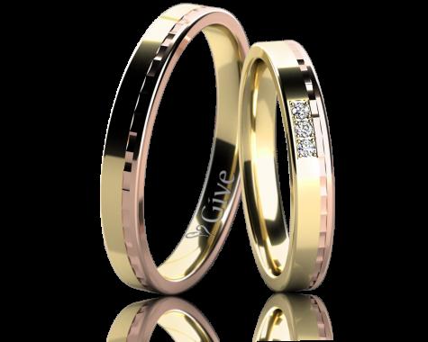 Snubní prsteny ORCHIDEI obr.10