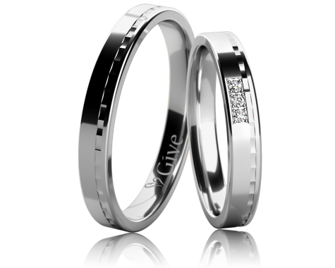 Snubní prsteny ORCHIDEI obr.12