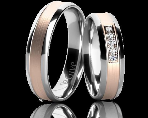 Snubní prsteny ZINNIA obr.18