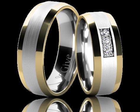 Snubní prsteny LOTOS obr.8