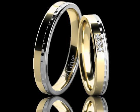 Snubní prsteny ORCHIDEI obr.9